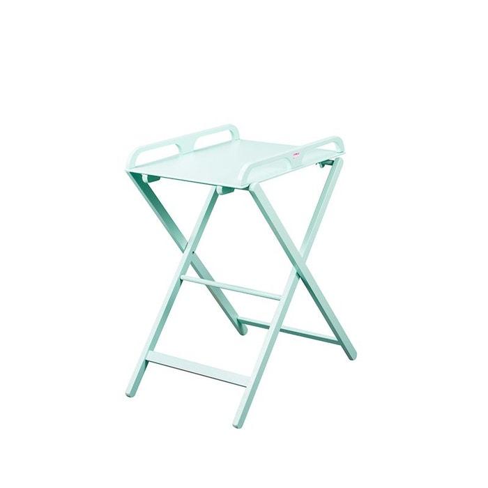 table a langer pliante en bois jade laqu e vert mint combelle couleur unique combelle la redoute. Black Bedroom Furniture Sets. Home Design Ideas