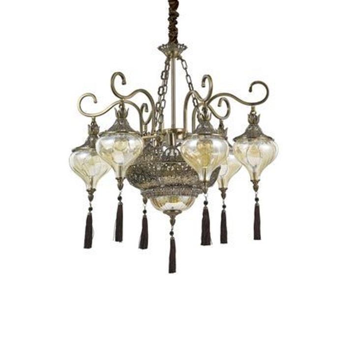 lustre harem 9x60w ideal lux 116006 boutica design la redoute. Black Bedroom Furniture Sets. Home Design Ideas