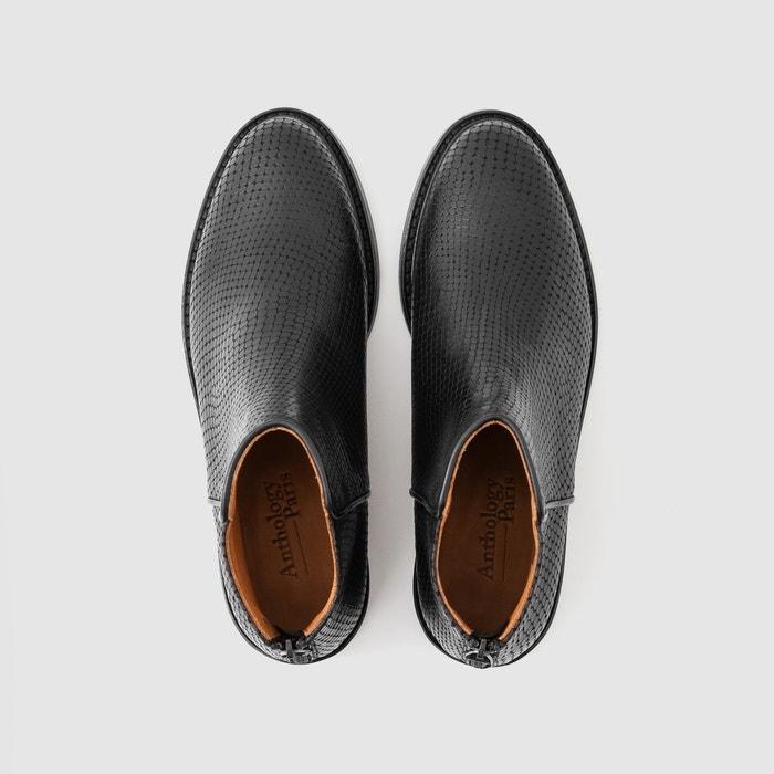 Image Boots en cuir ELFIE - ANTHOLOGY PARIS ANTHOLOGY PARIS