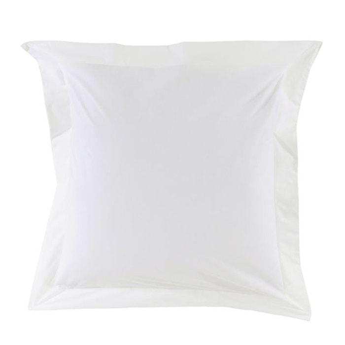 taie d 39 oreiller unie en coton essix la redoute. Black Bedroom Furniture Sets. Home Design Ideas