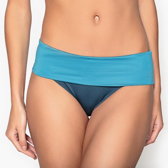 Culotte per bikini alte bicolore  La Redoute Collections image 0