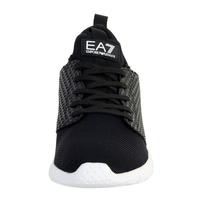 Basket ea7 simple racer material pack u noir Emporio Armani
