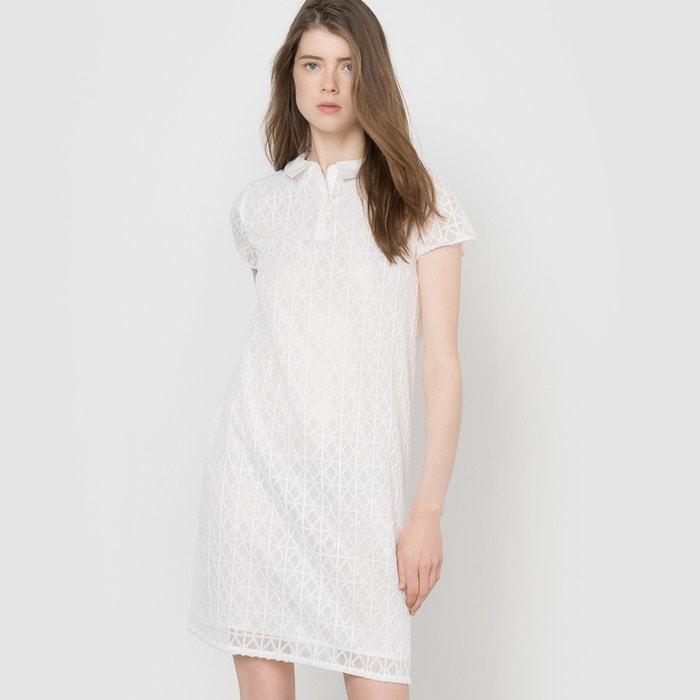 Image Robe dentelle col chemise MADEMOISELLE R