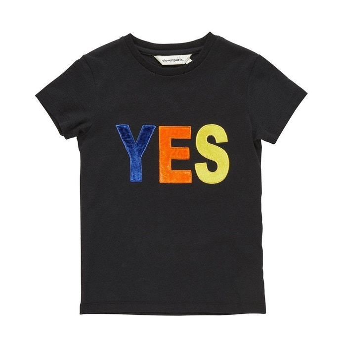 T shirt fille brodé LES