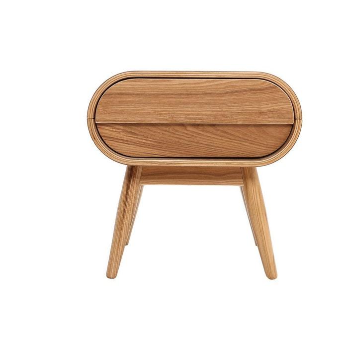 table de chevet design 1 tiroir bjorg fr ne miliboo la redoute. Black Bedroom Furniture Sets. Home Design Ideas