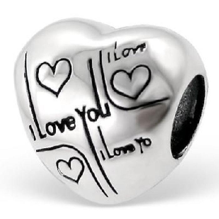 perle pandora je t'aime