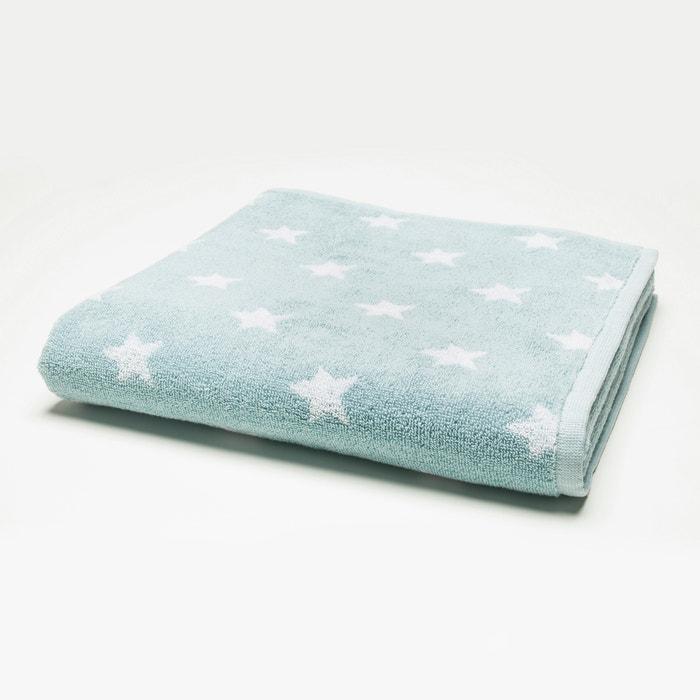 Drap de bain pur coton STARS  La Redoute Interieurs image 0