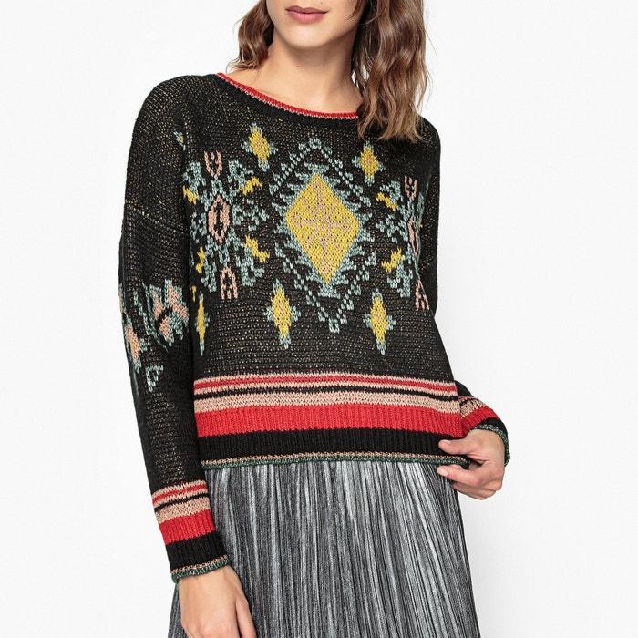 Жаккардовый пуловер с доставкой
