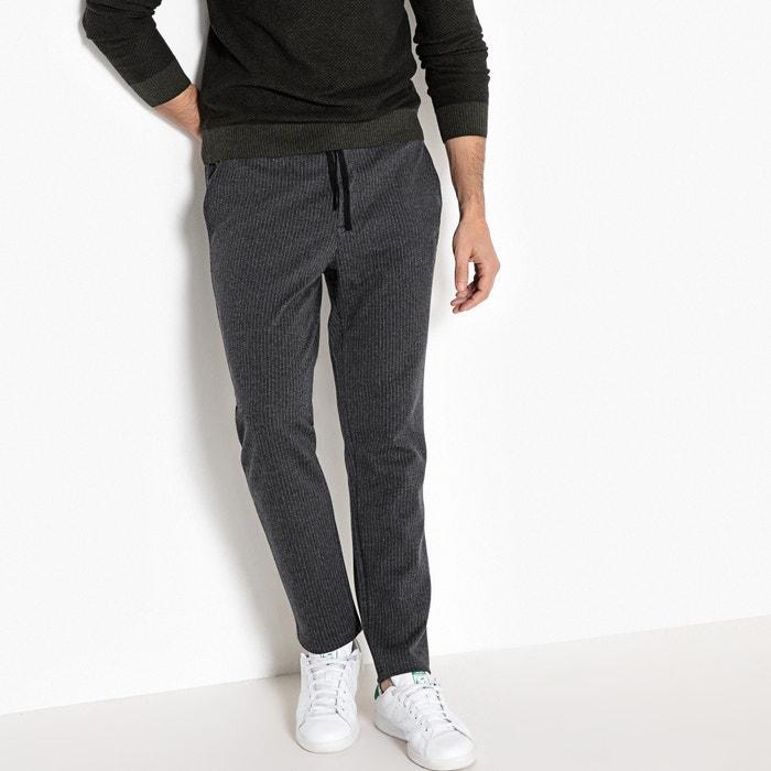 afbeelding Jogpant, gestreept, elastische taille La Redoute Collections