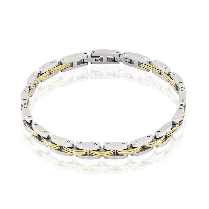 Bracelet acier blanc Histoire D'or | La Redoute Choix Pas Cher En Ligne Vente Extrêmement Nicekicks À Vendre oVYmHSl