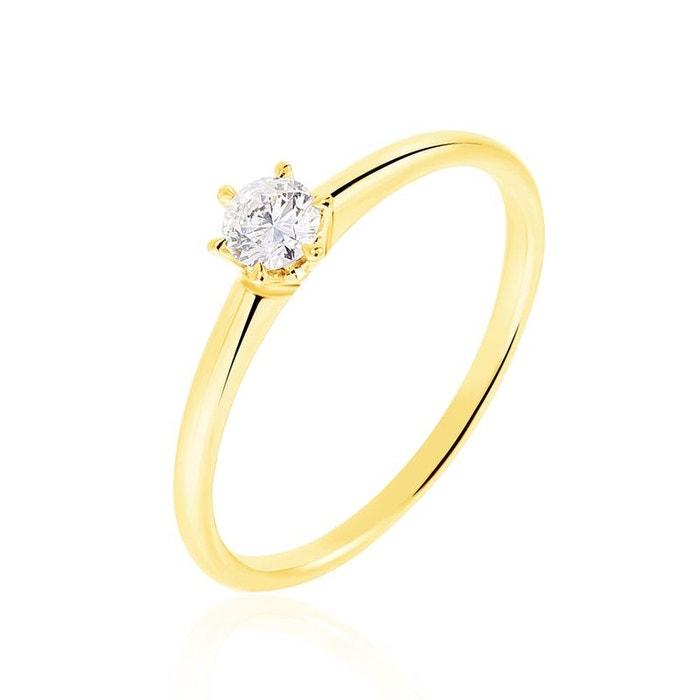 Solitaire or jaune et diamant jaune Histoire D'or | La Redoute Pré Commande À Vendre ebay excellent À La Mode oItEj2DED