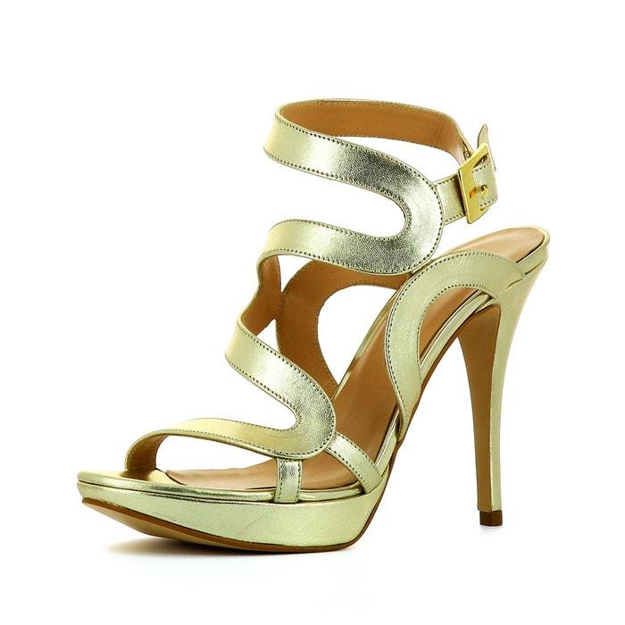 Sandales femme or Evita