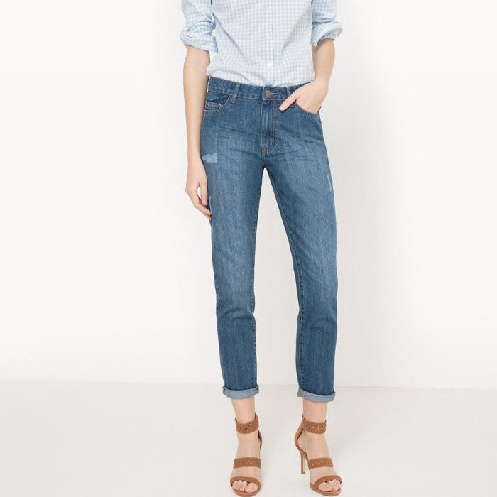 """Image Distressed Boyfriend Jeans, Length 30.5"""" R édition"""