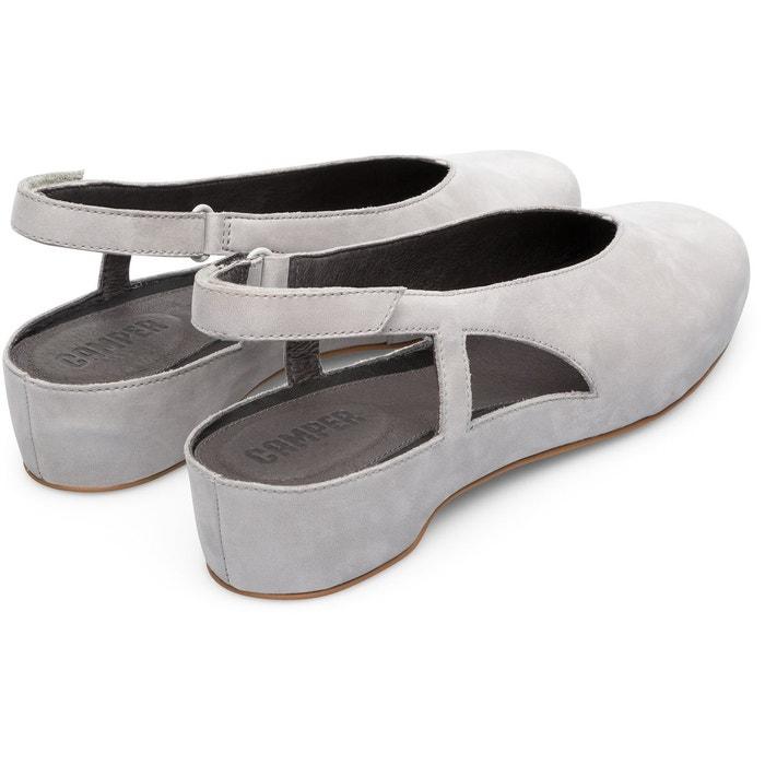 Serena k200617-004 chaussures plates femme gris Camper