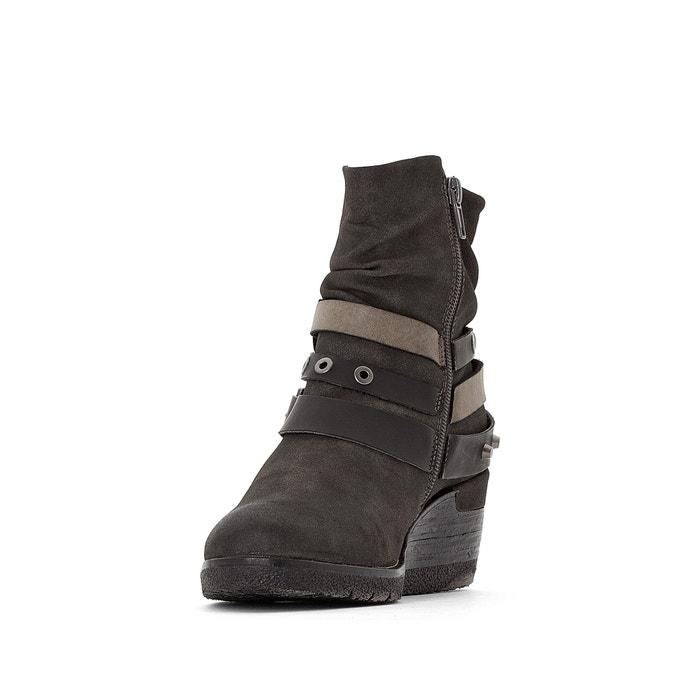 La gwen noir Boots Redoute compensées Coolway 5SEIqxnwI
