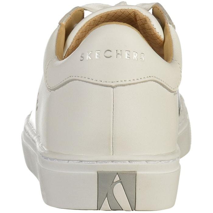 Sneaker blanc /argent Skechers