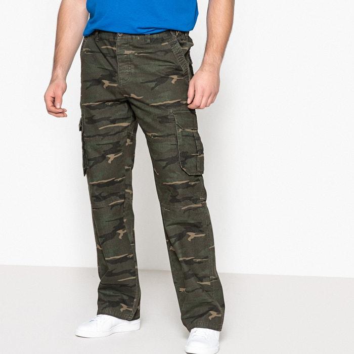 Camouflage Print Combat Trousers  CASTALUNA FOR MEN image 0