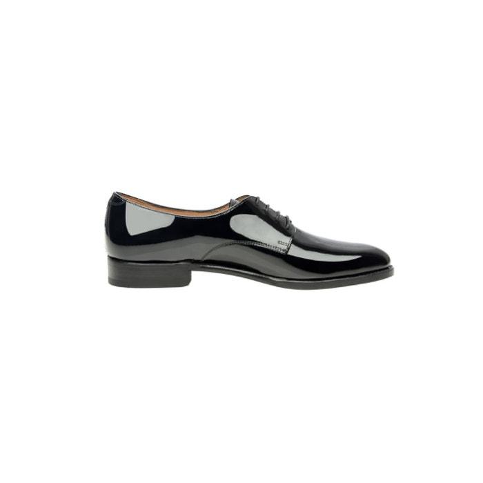 Derby plain verni en noir noir Shoepassion Prix pas Cher De Qualité Wiki Rabais limité Bon Service designer fbdwWld
