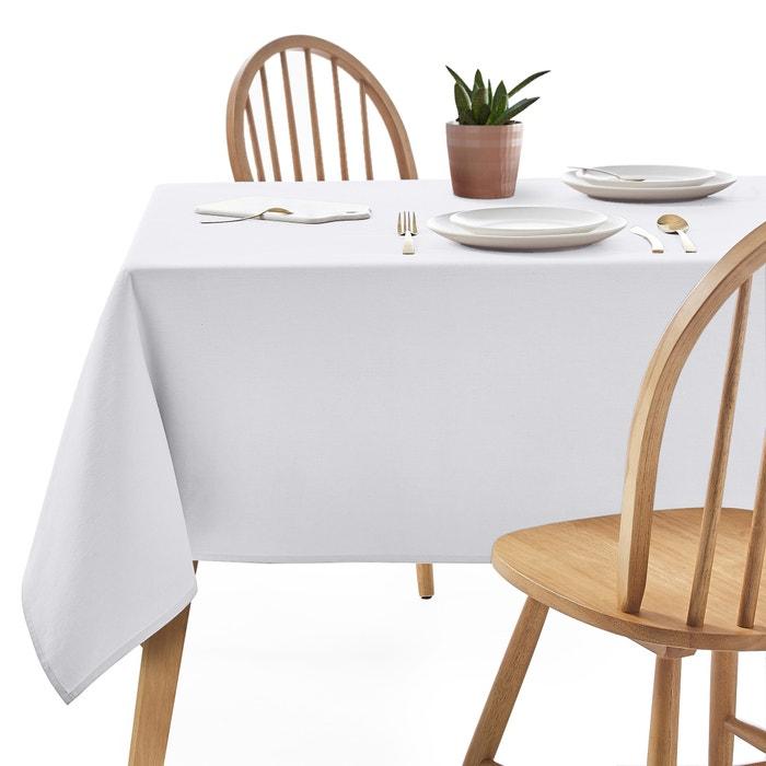 Nappe unie polyester scenario la redoute for La redoute linge de table