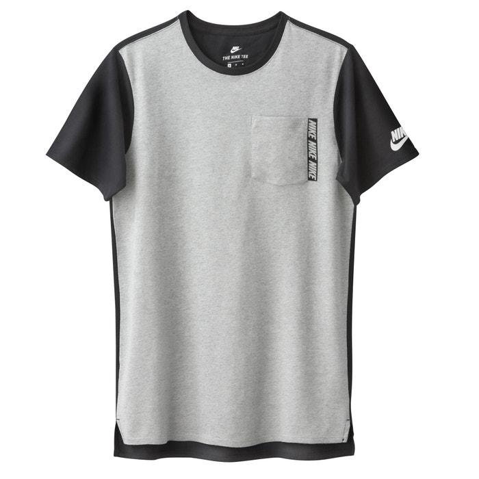 Image T-shirt con scollo rotondo tinta unita, maniche corte NIKE