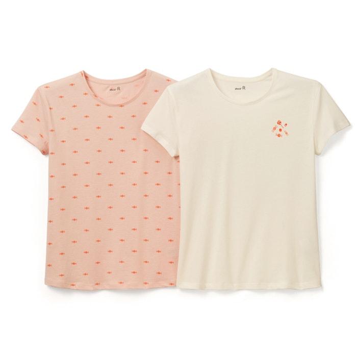 Image T-shirt imprimé 3-12 ans (lot de 2) R édition