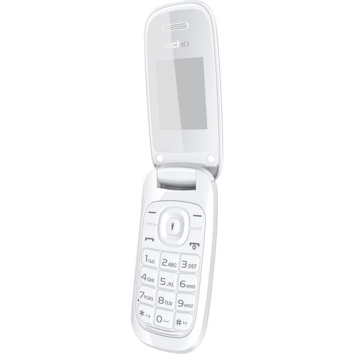 Mobile echo clap 2 blanc couleur unique echo la redoute - La redoute telephone gratuit ...
