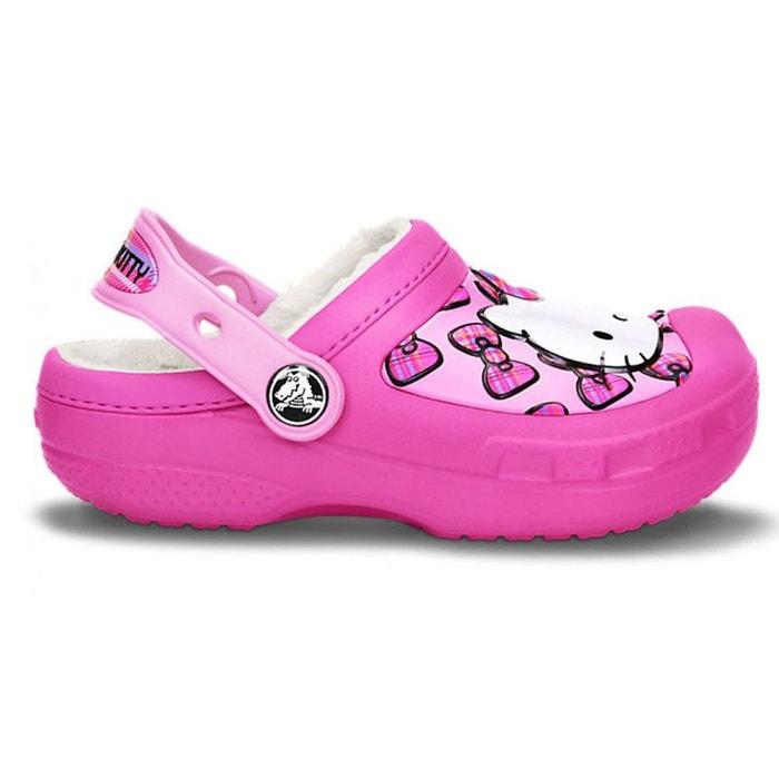 0d9a92d08373c Hello kitty sabot fille rose Crocs