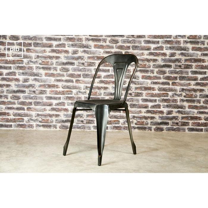 chaise multipl 39 s finition vintage gris produit interieur. Black Bedroom Furniture Sets. Home Design Ideas
