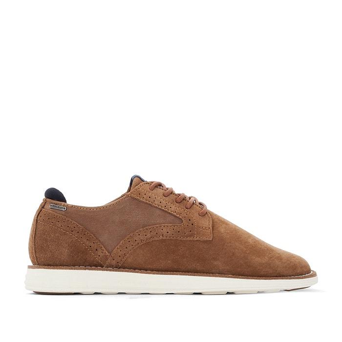 Sapatos derbies em pele, Derry Suede  PEPE JEANS image 0