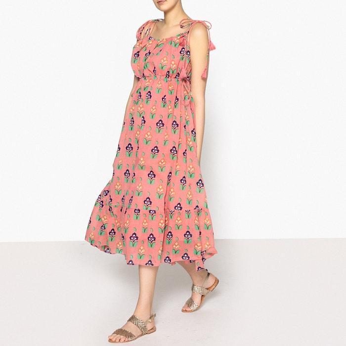 Mia Longue Long Robe Imprimée Dress CeQExWdrBo