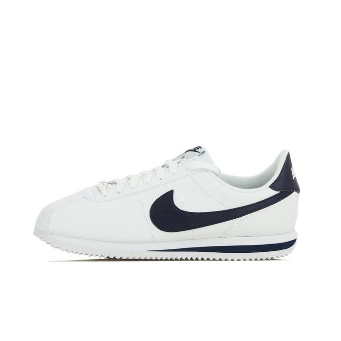 Basket cortez basic leather  blanc Nike  La Redoute
