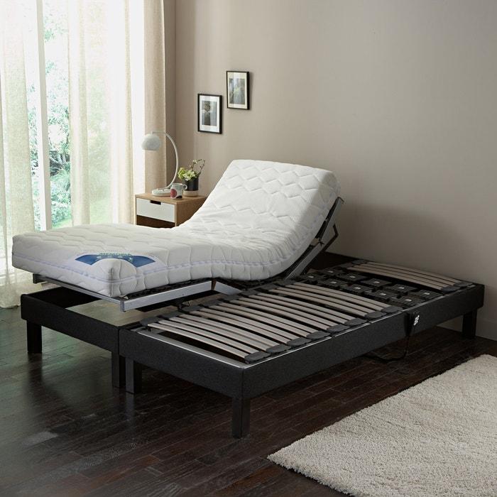 afbeelding Elektrische relax beddenbodem overtrokken met stof REVERIE