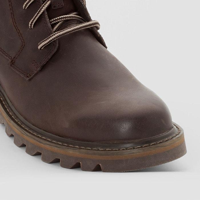 Boots doubleday marron chocolat Caterpillar