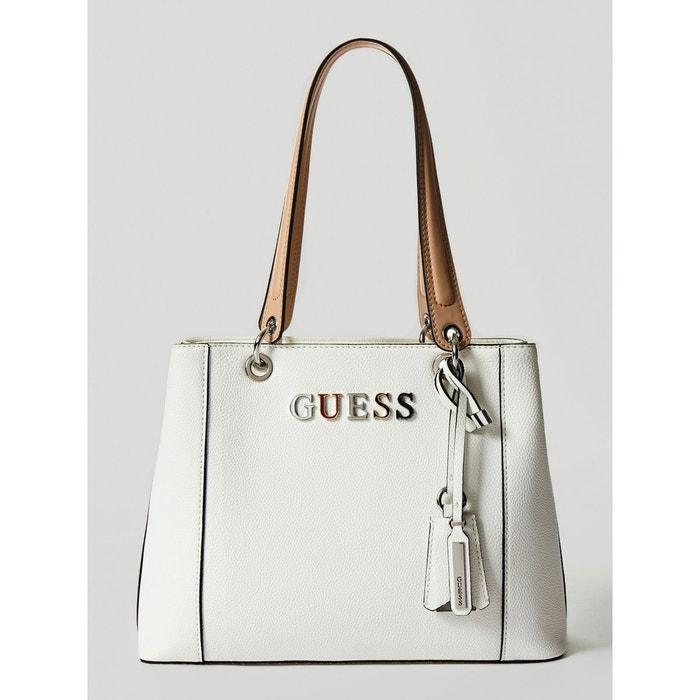 Ordre De Vente Meilleure Vente Pas Cher Sac kamryn logo blanc Guess | La Redoute wlrAQvPZ