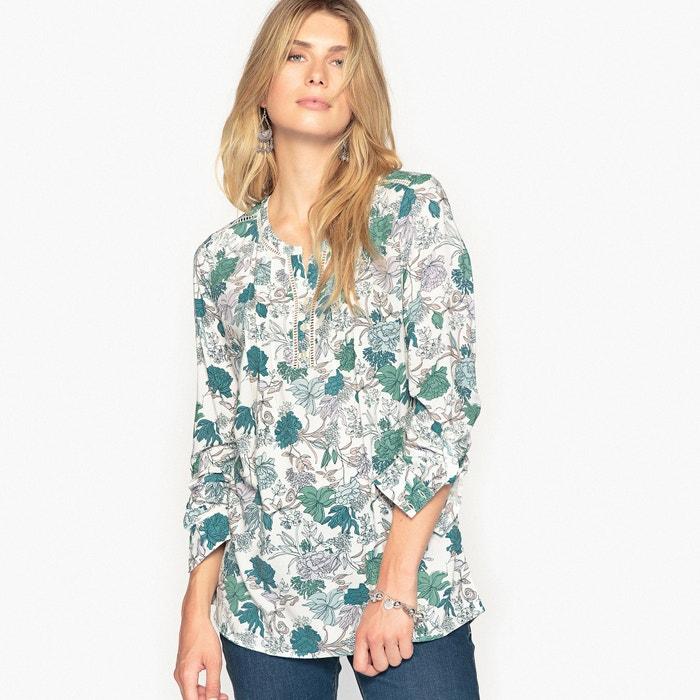 afbeelding Soepele bedrukte blouse ANNE WEYBURN