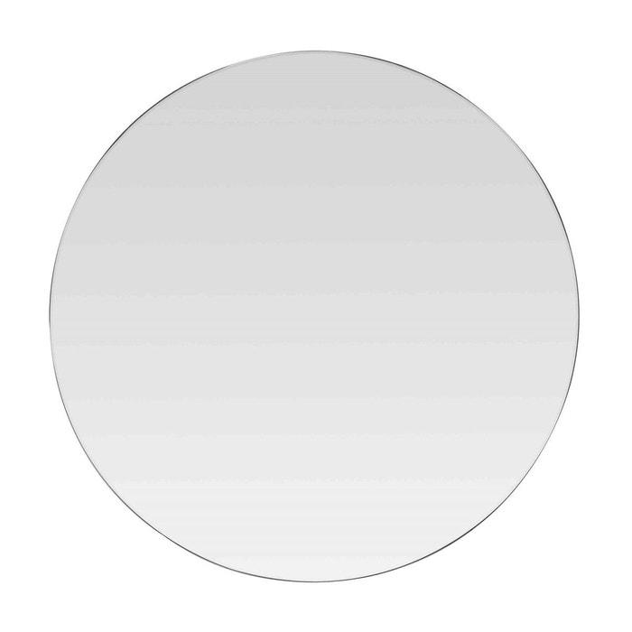 miroir rond verre d coup noir emde premium la redoute. Black Bedroom Furniture Sets. Home Design Ideas