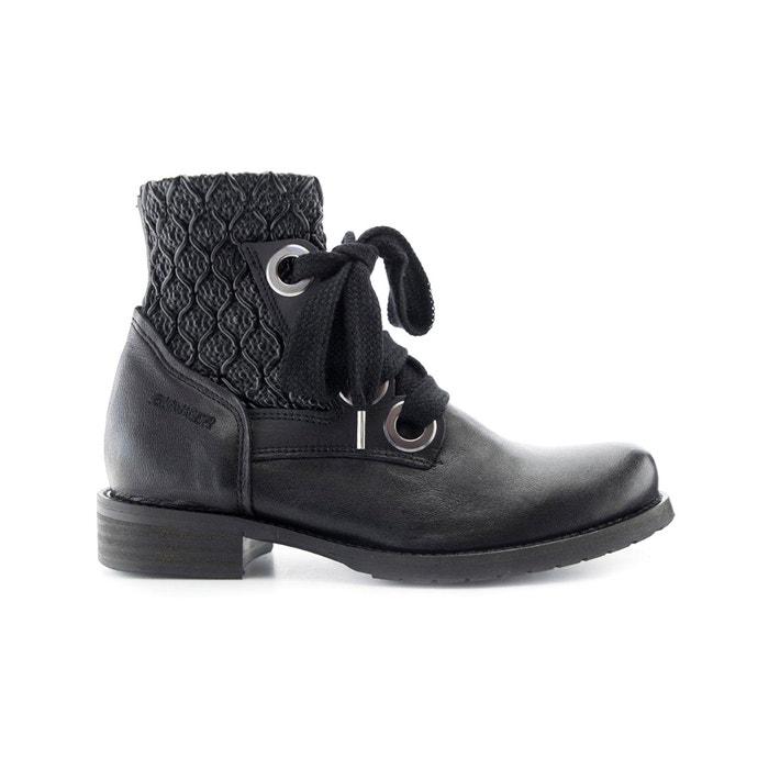 Image Boots cuir Vane BUNKER