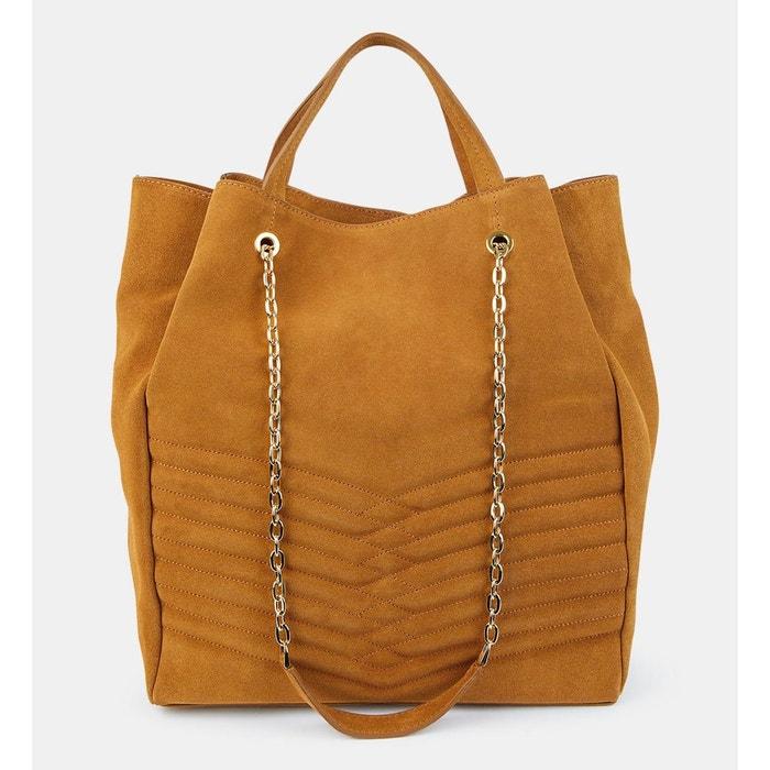 sac a main cuir femme interieur doré galerie