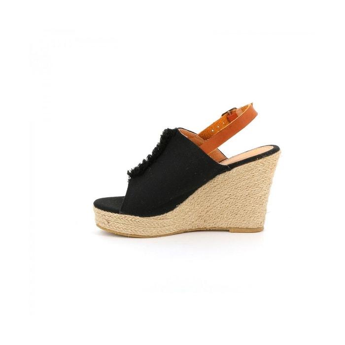 Sandale plateforme bagnera Cassis Cote Dazur