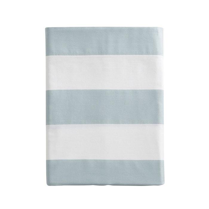 drap plat imprim en satin de coton holidays jade essix la redoute. Black Bedroom Furniture Sets. Home Design Ideas