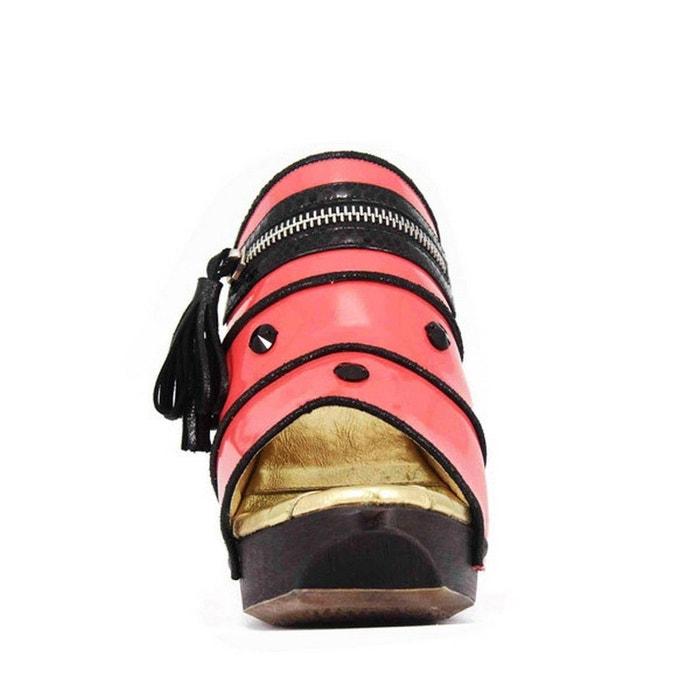 Chaussure femme en cuir breeze rose Pring Paris