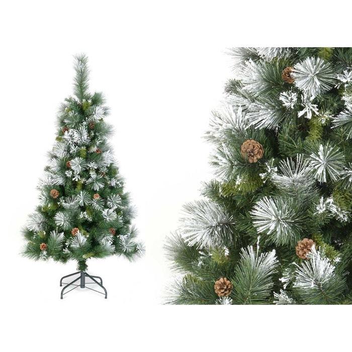 sapin de noel artificiel semi floqu montana pine 210 cm jardideco la redoute. Black Bedroom Furniture Sets. Home Design Ideas