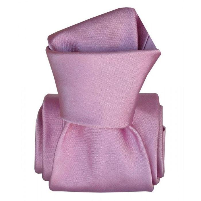 Cravate classique segni disegni, satin mauve violet Segni Et Disegni | La Redoute
