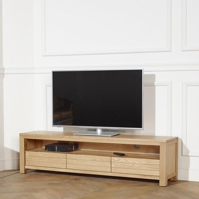 Meuble tv addison ch ne clair bois clair robin des bois Meuble robin des bois