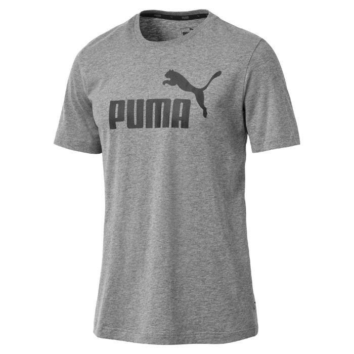 T-shirt scollo rotondo maniche corte fantasia davanti  PUMA image 0