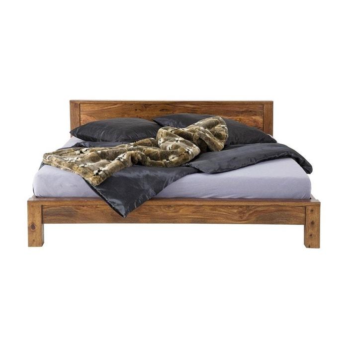 lit latino 180x200 cm kare design bois kare design la redoute. Black Bedroom Furniture Sets. Home Design Ideas