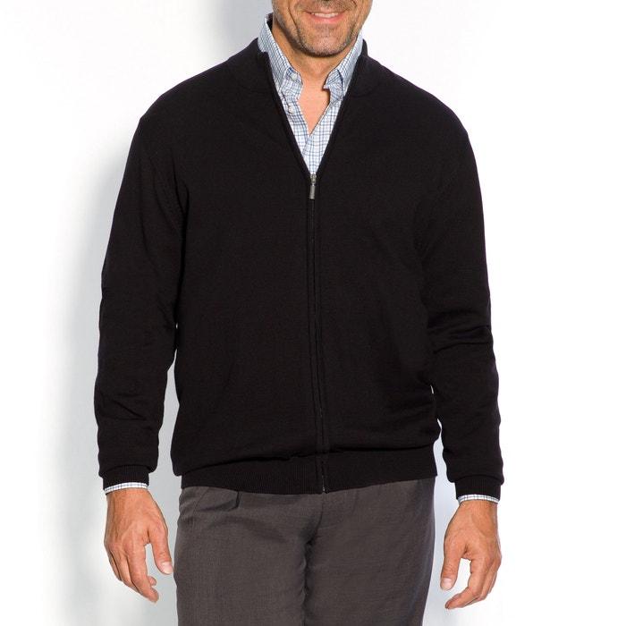 Image Gilet zippé, pur coton CASTALUNA FOR MEN