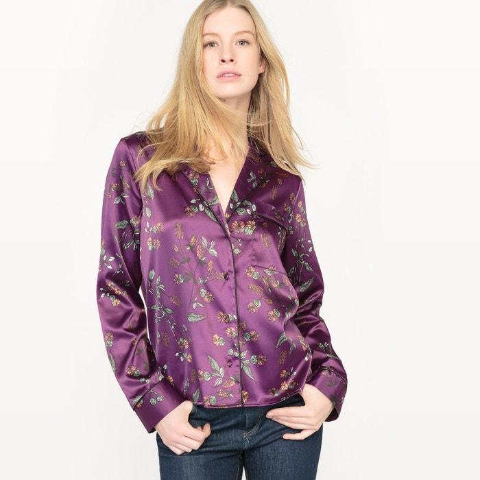 фото Рубашка из сатина с рисунком R édition