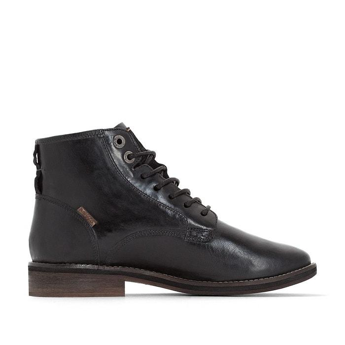 Boots cuir baldwin  noir Levi's  La Redoute