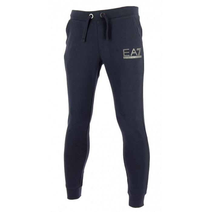 084bbd31114d Pantalon de survêtement coton bleu Emporio Armani Ea7